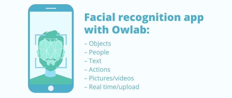Facial recognition app with Owlab