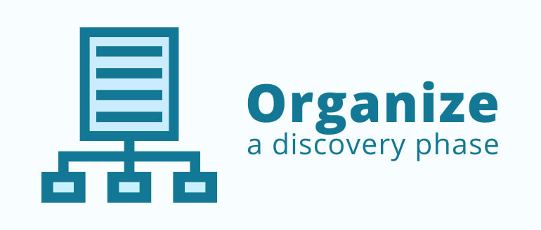 How to Organize a Discovery Phase?